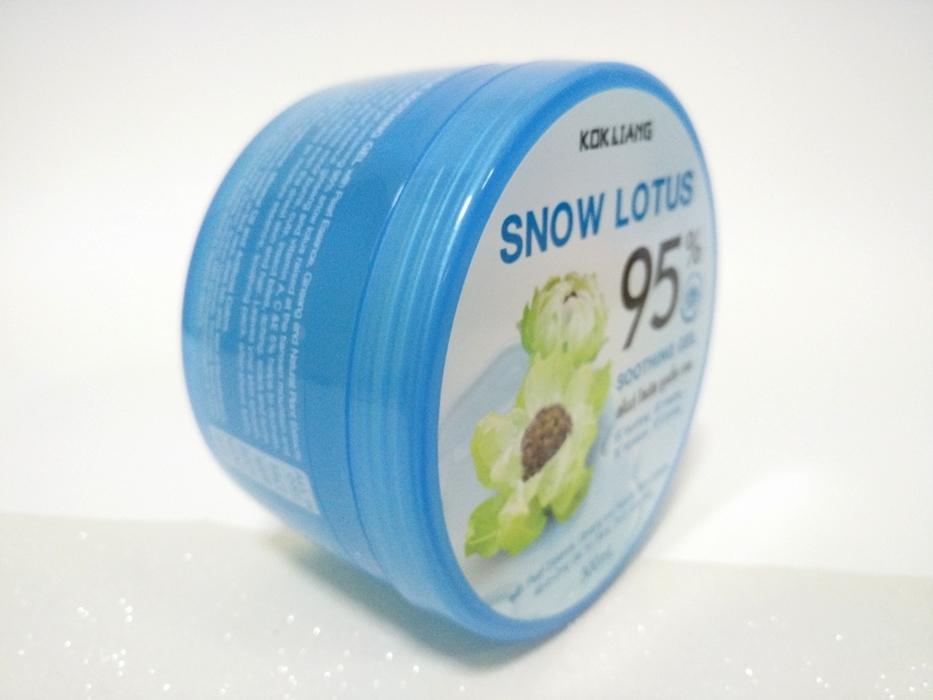 รีวิวก๊กเลี้ยง เจลบัวหิมะ